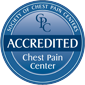 Recognized by the Society of Chest Pain Centers seal graphic