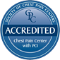 Baptist Health has received Chest Pain Center accreditation badge