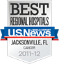 U.S. News & World Report - Best Regional Hospital: Cancer 2011