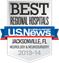 Best Regional Hospitals: U.S. News & World Report seal graphic