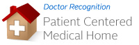 Doctor Recognized: Patient Centered Medical Home graphic