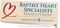 Baptist Heart Specialists Research Center graphic
