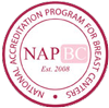 Recognized by the National Accreditation Program for Breast Centers graphic