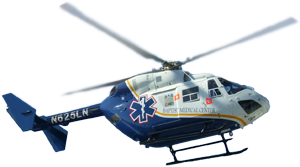 Baptist Health's Life Flight helicopter photo