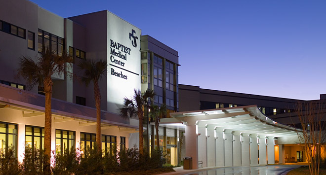 Baptist Medical Center Beaches page header