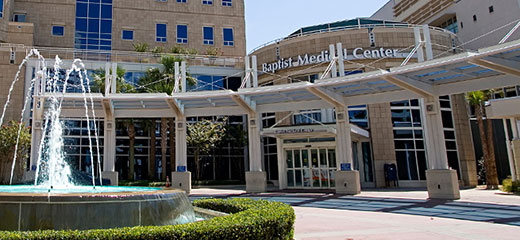 Baptist Medical Center Jacksonville header image