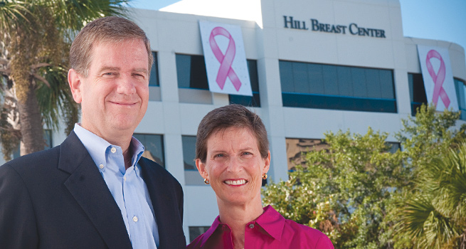 Hill Breast Center page header
