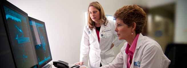 Mammography and Bone Density Scan page header