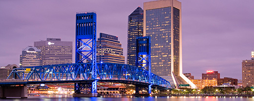 Physician opportunities in downtown jacksonville header graphic