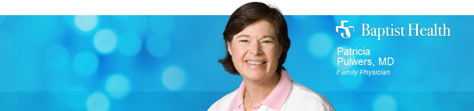 Patricia Pulwers, MD is a Family Physician for Baptist Health in Jacksonville, FL