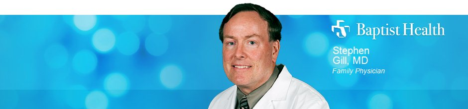 Stephen Gill, MD is a Family Physician for Baptist Health in Jacksonville, FL